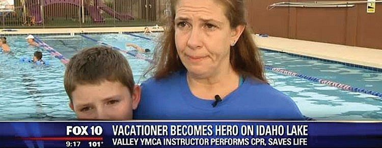 Valley of the Sun YMCA   Instructor Saves Boy