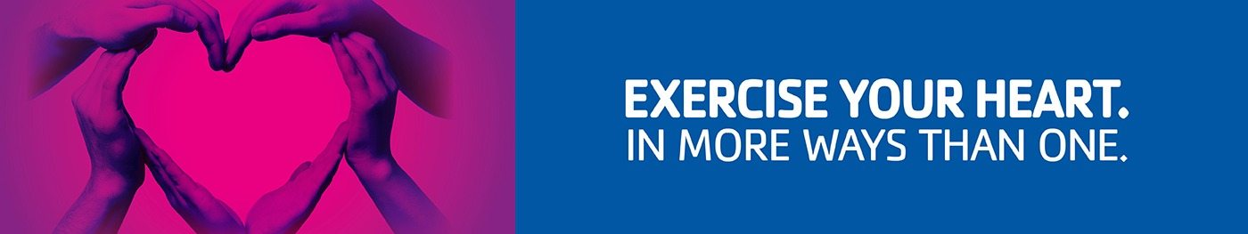 Excercise Your Heart. In More Ways Than One.
