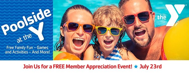 Poolside Party at the Y | Family Fun | Games & Activities | July 23rd | Valley of the Sun YMCA