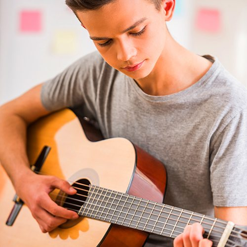 Guitar | Youth | Programs & Activities | Valley of the Sun YMCA